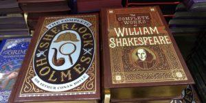 ウィリアム・シェイクスピア、シャーロックホームズ